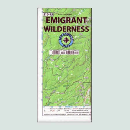 Tom Harrison Emigrant Wilderness Map
