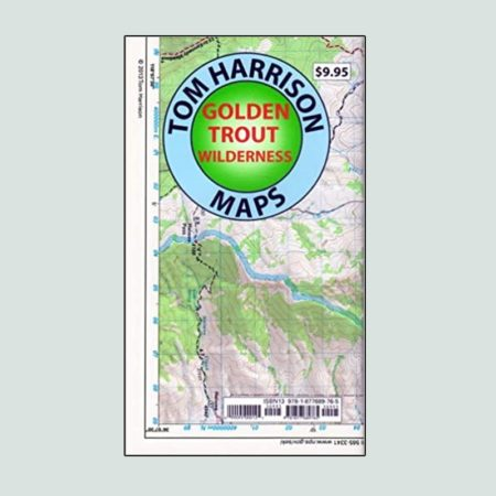 Tom Harrison Map of Golden Trout Wilderness