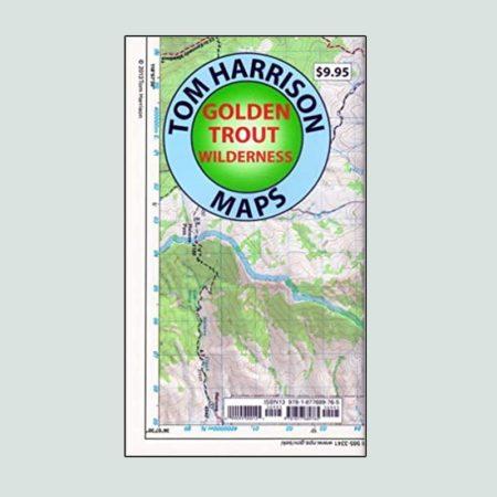 Tom Harrison Map of Golden Trout Wilderness