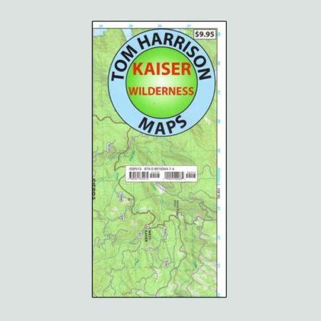 Tom Harrison map of Kaiser Wilderness