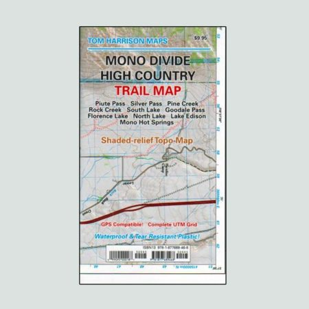 Mono Divide High Country printed map